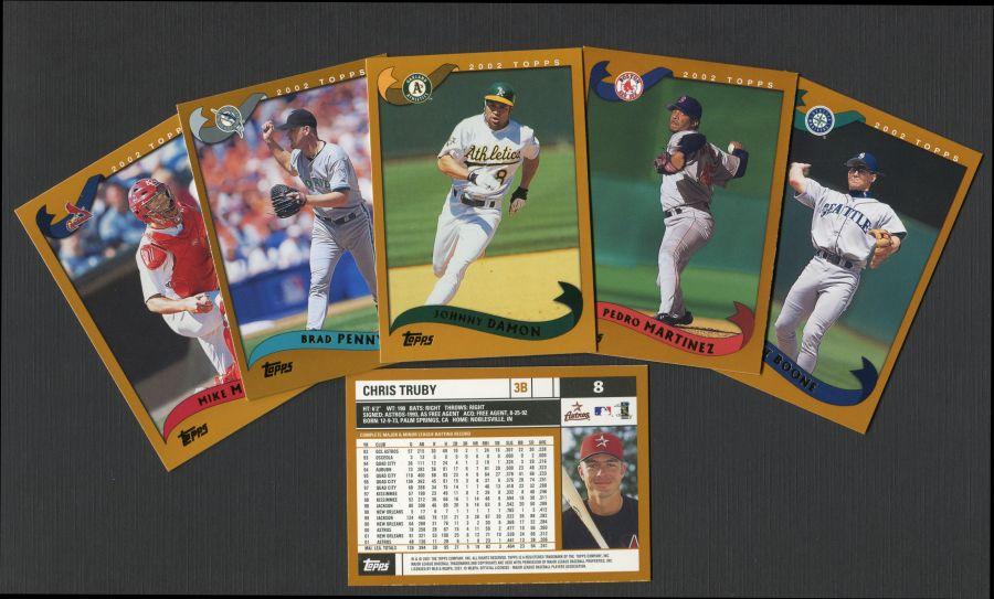 2002 Topps    Baseball Complete Set